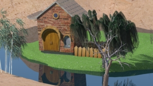 House,lake_1