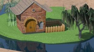 House,lake_3
