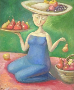 pears and apple