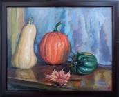 Stillife with Pumpkin